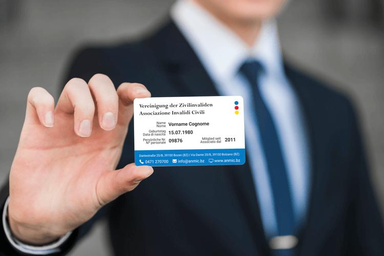 Membership Card ANMIC South Tyrol